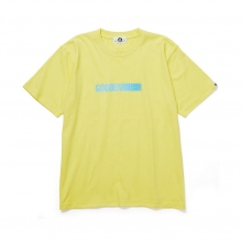 GOODENOUGH / グッドイナフ | PRINT TEE - MOTION - Yellow