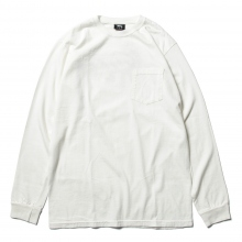 STUSSY / ステューシー | Camo Stock Pig. Dyed PKT LS Tee - Natural