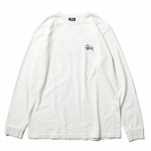 STUSSY / ステューシー | Basic Stussy Pig. Dyed LS Tee - Natural