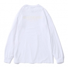BEDWIN / ベドウィン | L/S PRINT T 「PERALTA」 - White