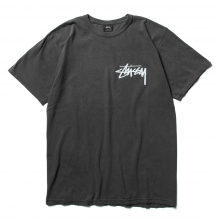 STUSSY / ステューシー | Stock Pig. Dyed Tee - Black