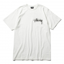 STUSSY / ステューシー | Stock Pig. Dyed Tee - Natural