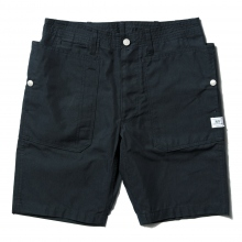 SASSAFRAS / ササフラス | FALL LEAF SPRAYER PANTS 1/2 - C/N Oxford 65/35 - Navy ★