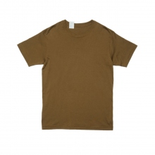 N.HOOLYWOOD / エヌハリウッド | 17-6223 CREW NECK T-SHIRT - Earth Brown