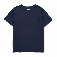 BEDWIN / ベドウィン | S/S ROUND BODY TEE 「ANDERSON」 - Navy
