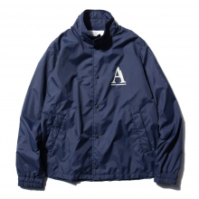 ....... RESEARCH | Coach Jacket - Aマーク - Navy ★