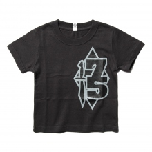 GOODENOUGH FOR KIDS / グッドイナフ フォー キッズ | PRINT TEE - 75 (KIDS) - Charcoal
