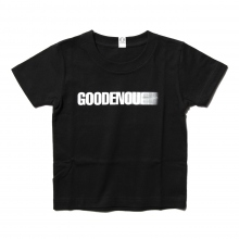 GOODENOUGH FOR KIDS / グッドイナフ フォー キッズ | PRINT TEE - MOTION (KIDS) - Black