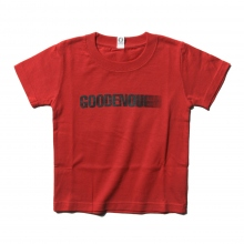 GOODENOUGH FOR KIDS / グッドイナフ フォー キッズ | PRINT TEE - MOTION (KIDS) - Red