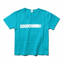 GOODENOUGH FOR KIDS / グッドイナフ フォー キッズ | PRINT TEE - MOTION (KIDS) - Turquoise