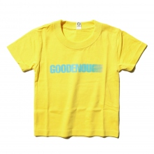GOODENOUGH FOR KIDS / グッドイナフ フォー キッズ | PRINT TEE - MOTION (KIDS) - Yellow