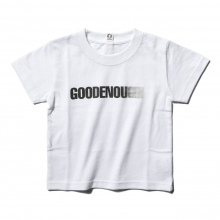 GOODENOUGH FOR KIDS / グッドイナフ フォー キッズ | PRINT TEE - MOTION (KIDS) - White / Black