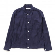 UNIVERSAL PRODUCTS / ユニバーサルプロダクツ | 1ST TRUCKER JACKET - Navy