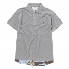 HABANOS / ハバノス | LAYERED POLO SHIRTS - 杢 Gray
