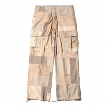 ....... RESEARCH | Patched Cargo Pants - Beige