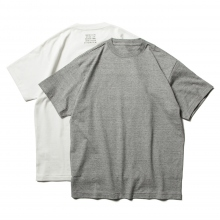 N.HOOLYWOOD / エヌハリウッド | 9211-CS18-037-pieces 2PACK T-SHIRT - Gr / White