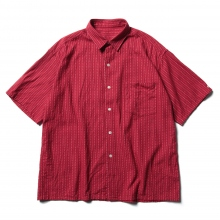 Porter Classic / ポータークラシック | HAPPY RED SHORT SLEEVE SHIRT - Red