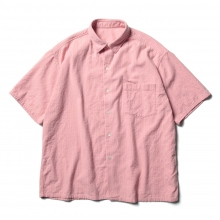 Porter Classic / ポータークラシック | HAPPY RED SHORT SLEEVE SHIRT - Sakura