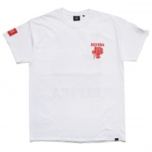 ELVIRA / エルビラ | RETRO ROSE T-SHIRT - White