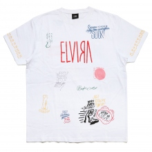 ELVIRA / エルビラ | SCRIBBLE T-SHIRT - White