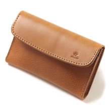 MOTO / モト | 被せ Card Case Combi CA2 - Brown