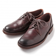 MOTO / モト | Wステッチ外羽根 Plain Toe Oxford Shoes #1632 - Brown