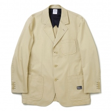 BEDWIN / ベドウィン | 3B CHINO TAYLOR JACKET 「MICHAEL」 - Beige