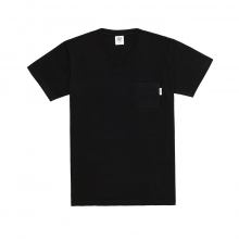 Mr.GENTLEMAN / ミスタージェントルマン | SOUVENIR V NECK TEE - Black
