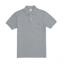 Mr.GENTLEMAN / ミスタージェントルマン | SOUVENIR POLO SHIRT - Grey