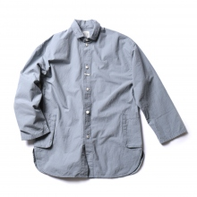 Porter Classic / ポータークラシック | LOCAL BLUE SHIRT JACKET - Blue