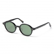 kearny / カーニー | round - Black / lens Dark Green