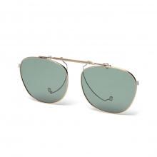 kearny / カーニー | clip on (coit専用) - Antique Gold / lens Dark Green