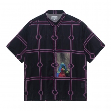 C.E / シーイー | FRAME SHORT SLEEVE SHIRT - Black