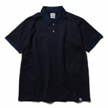 BEDWIN / ベドウィン | S/S POLO SHIRT 「TOUSSAINT」 - Navy