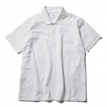BEDWIN / ベドウィン | S/S POLO SHIRT 「TOUSSAINT」 - White