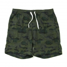 HABANOS / ハバノス | B-WATCH CAMO SHORTS - Olive Camo
