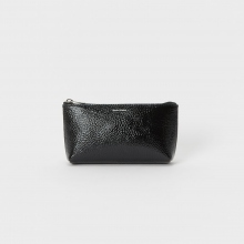 Hender Scheme / エンダースキーマ | pouch S - patent leather - Black