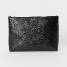 Hender Scheme / エンダースキーマ | pouch L - patent leather - Black