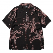STUSSY / ステューシー | Banana Tree Shirt - Black