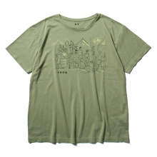 Porter Classic / ポータークラシック | T-SHIRT / MASH SHOWER SCENE - Olive