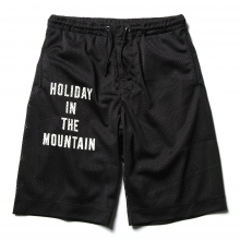 ....... RESEARCH | Mesh Baggy Shorts - Black