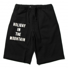 ....... RESEARCH | Baggy Shorts - HOLIDAYロゴ - Black