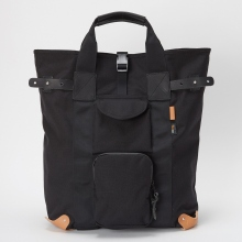 Hender Scheme / エンダースキーマ | functional back pack - Black