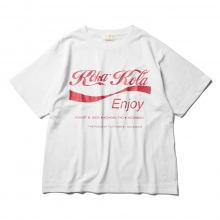 NEON SIGN / ネオンサイン | KOKAKOLA T-SHIRT - Bright White