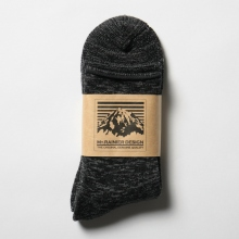 Mt.RAINIER DESIGN / マウントレイニアデザイン | MRD DRALON REVERIBLE SOCKS - Black