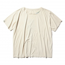 Porter Classic / ポータークラシック | H/W PAINTER T-SHIRT - White