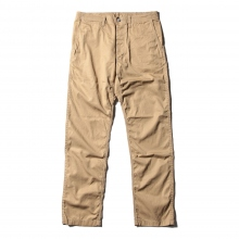 SASSAFRAS / ササフラス | SPRAYER PANTS - Gabardine - Beige ★