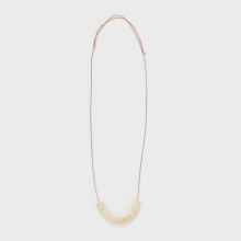 Hender Scheme / エンダースキーマ | not lying jewelry necklace - White