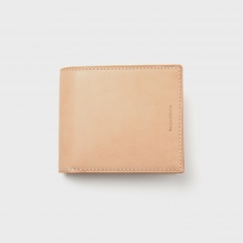 Hender Scheme / エンダースキーマ | half folded wallet - Natural