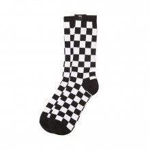 STUSSY / ステューシー | Checker Socks - Black / White